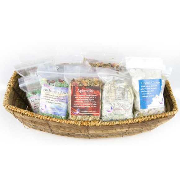 Crystal and Herb Bags