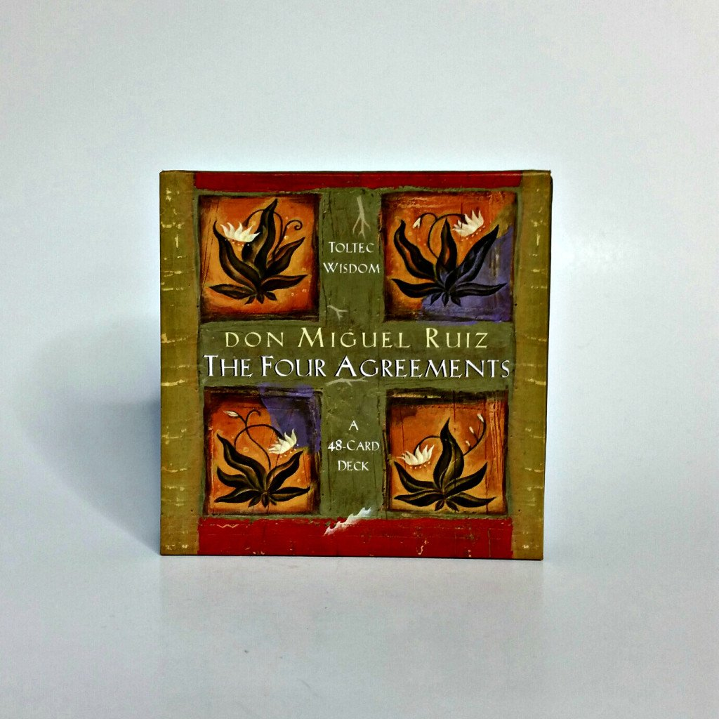 Four Agreements Cards By Don Miguel Ruiz The Mystical Moon Online