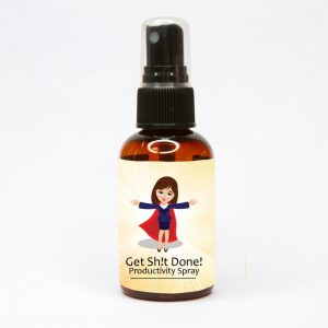 get sh!t done productivity spray