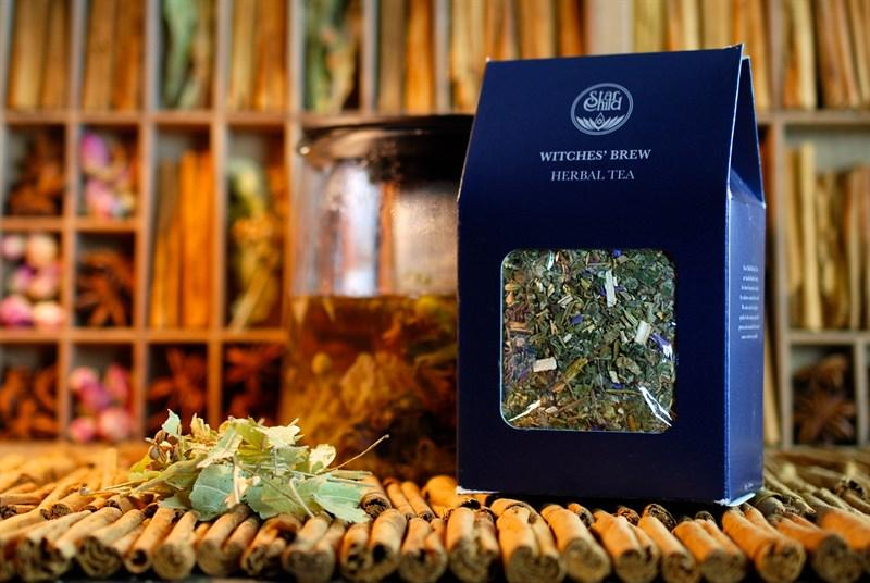 witches' brew herbal tea
