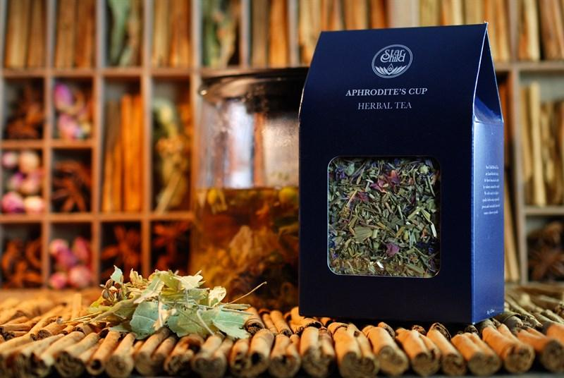 Aphrodite's cup herbal tea